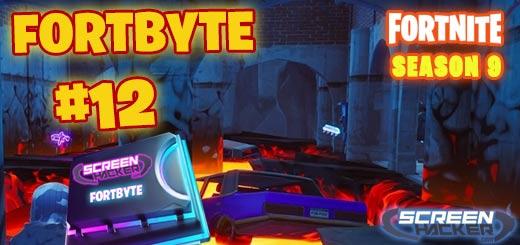 Fortnite Season 9 – Fortbyte 12 Location