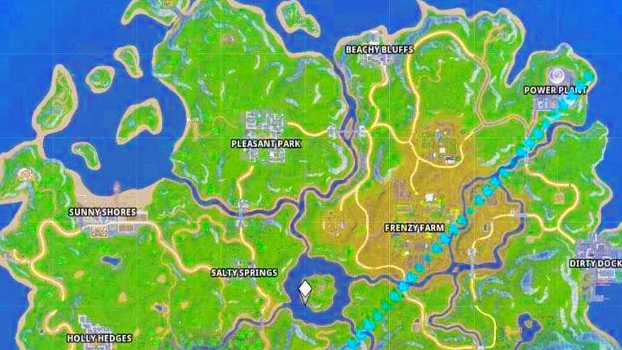 Fortnite Chapter 2 Season 11 Map!