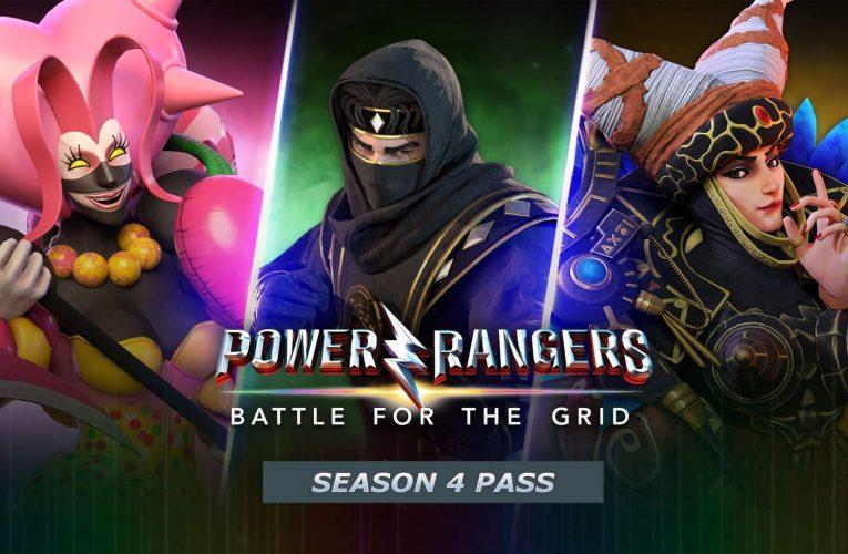 Power Rangers: Battle for the Grid Season 4 Launching September 21