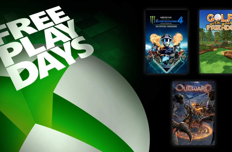 Free Play Days: Monster Energy Supercross – The Official Video Game 4, Outward, and Golf with Your Friends