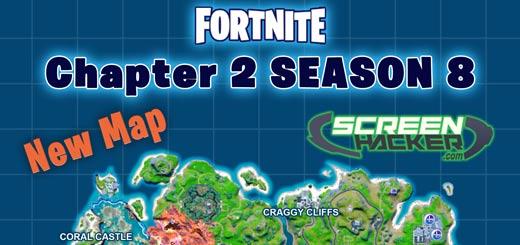 Fortnite Chapter 2 Season 8 Map