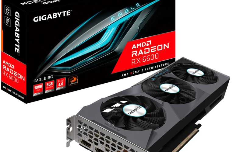 Gigabyte Launches AMD Radeon RX 6600 Eagle 8G Graphics Card