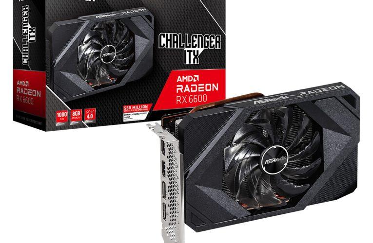 ASRock Announces Radeon RX 6600 Challenger Series Graphics Cards
