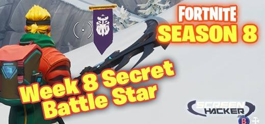 - fortnite week 8 secret banner season 8